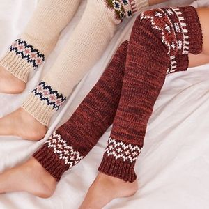 Legwarmer rusted red